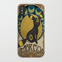 umbreon iPhone & iPod Cases featuring Umbreon by Yamilett Pimentel
