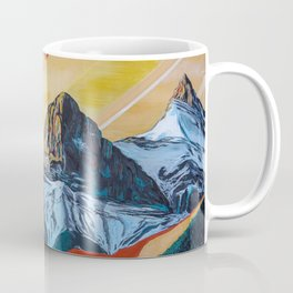 Three Sister Mountains Coffee Mug