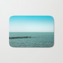 Nature photo - horizon Bath Mat