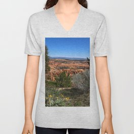 Wild  Nature of Bryce Canyon Unisex V-Neck