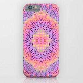 rainbow stones iPhone Case