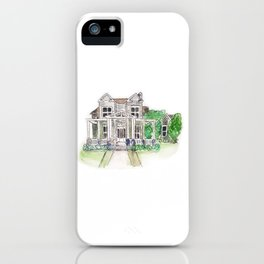 Custom House Painting iPhone Case