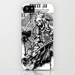 Death Gods iPhone Case