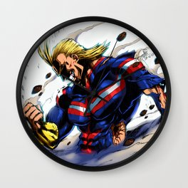 AllMight, The last fight Wall Clock