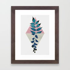 Geometry and Nature I Framed Art Print