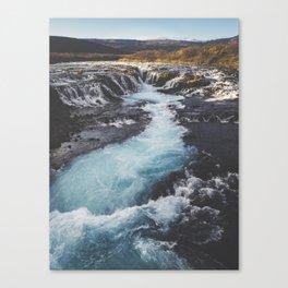Bruarfoss, Golden Circle, Iceland Canvas Print