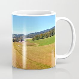 Country road with scenery | landscape photography Coffee Mug
