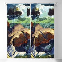 George Bellows Sun Glow Blackout Curtain
