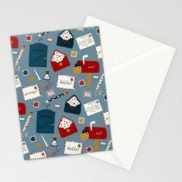 Postal Service Pattern Stationery Cards