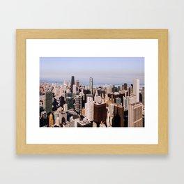 Sweet Home Chicago Framed Art Print