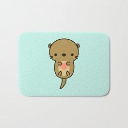 Cute otter Bath Mat