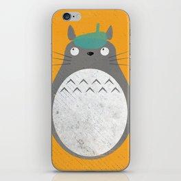 Homenaje a Totoro iPhone Skin