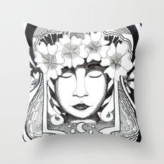 Virgo Throw Pillow