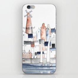 harbortown and windmill iPhone Skin