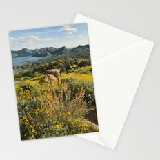 Arizona Spring Mountain Bloom Stationery Cards
