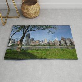 NYC Roosevelt Island Skyline 1  Rug