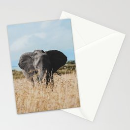 Wild Elephant Stationery Cards