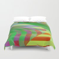 circus Duvet Covers featuring Circus by Alexander Studio