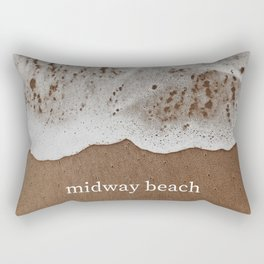 midway beach Rectangular Pillow