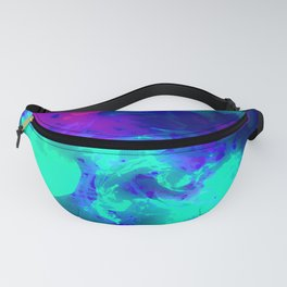 Glowing Grapes - Fruity Ink Fluid Fanny Pack