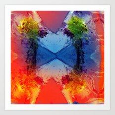 Gush Art Print