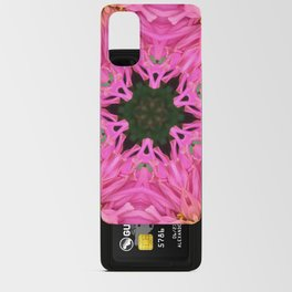 Pink Zinnia Kaleidoscope Mandala Android Card Case