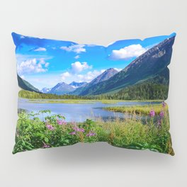God's Country - IV, Alaska Pillow Sham