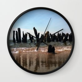 Crippled Docks Wall Clock