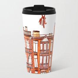 NYC - Watercolor Travel Mug