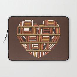 I Heart Books Laptop Sleeve