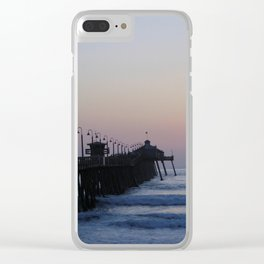 Goodnight Sun ~ Southern California Clear iPhone Case