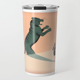 Business Woman Travel Mug