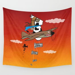 Muso Milkwar Aircraft Wall Tapestry