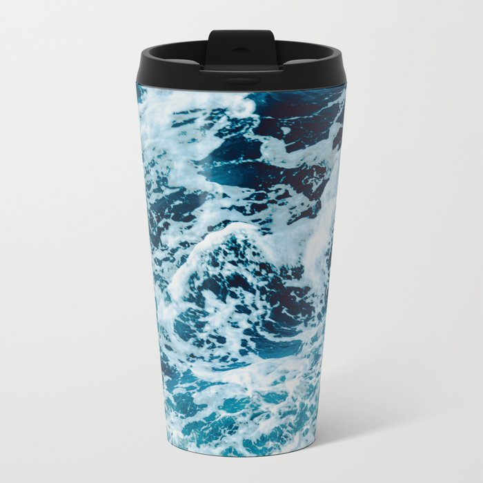 Lovely Seas Metal Travel Mug