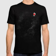 Love Space Black LARGE Mens Fitted Tee
