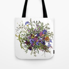 Pansy Delight Tote Bag