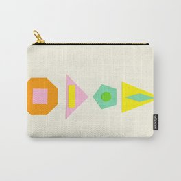 Shapes Within Shapes Carry-All Pouch
