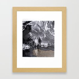 Cave Drawing I Framed Art Print