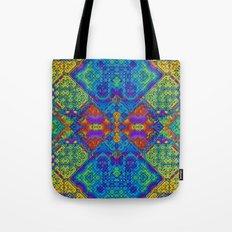Festive Mosaic Tote Bag