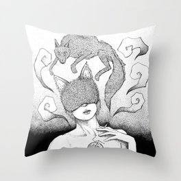 The killing Moon Throw Pillow