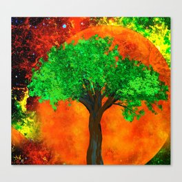 THE FOREVER TREE Canvas Print