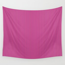 Pink stripes pattern Wall Tapestry