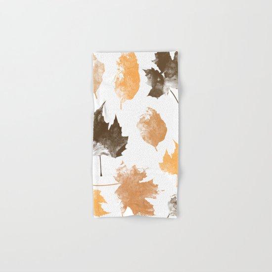 autumn, leaves, Hand & Bath Towel