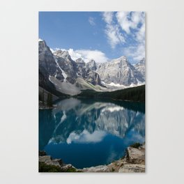 Moraine Lake Reflections Canvas Print