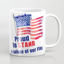 Proud to STAND Coffee Mug