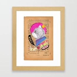 King Cat  Framed Art Print