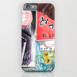 Yakitori Alley iPhone Case