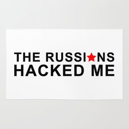 the russians hacked me Rug