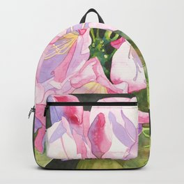 Pink Rhododendron Backpack