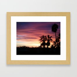 Pink Hollywood Framed Art Print